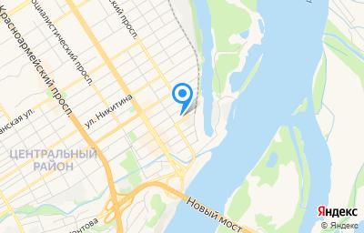 Местоположение на карте пункта техосмотра по адресу г Барнаул, ул Льва Толстого, д 8