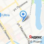 Система Город на карте Барнаула