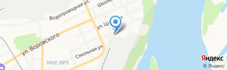 Пекарня на карте Барнаула