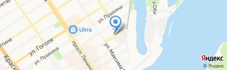 Технэкспро на карте Барнаула