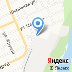 Тамбовская на карте Барнаула