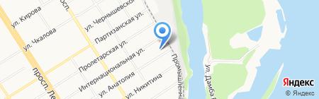 Бренд на карте Барнаула