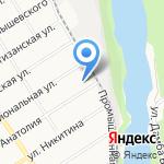 Акрил-Маркет на карте Барнаула