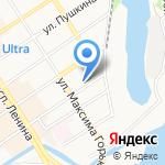 Магазин по продаже средств защиты растений на карте Барнаула