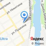Август Алтай на карте Барнаула