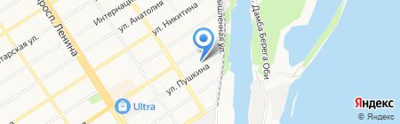 СахарИнвест на карте Барнаула