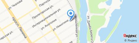 Алтайский похоронный дом на карте Барнаула