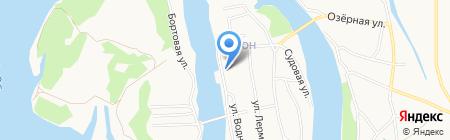НОРМА на карте Барнаула