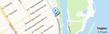 Корн на карте Барнаула