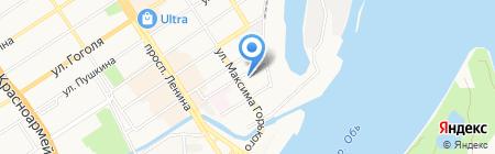 Сиб Упак на карте Барнаула