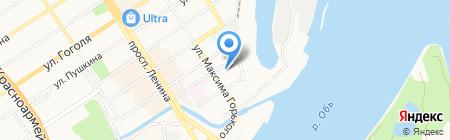 АлтайМодуль на карте Барнаула