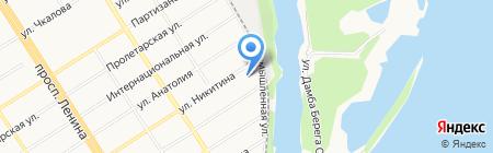 АвтоТорг на карте Барнаула