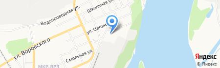 Буровая компания на карте Барнаула