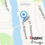 Городская поликлиника №1 на карте Барнаула