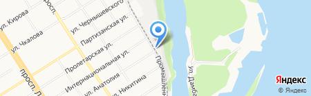РИМ на карте Барнаула