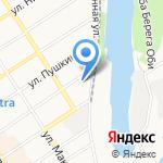 Сибирская ветеринарная компания на карте Барнаула