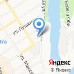 Государственный музей истории литературы на карте Барнаула