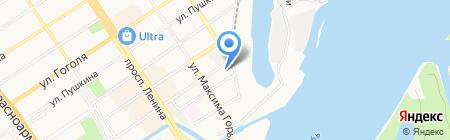 Магнитно-резонансная томография на карте Барнаула