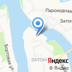 Синтез на карте Барнаула