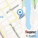 Авторазбор на Космонавтов на карте Барнаула