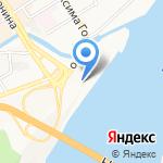 Речной вокзал на карте Барнаула