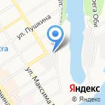 Renault-Center на карте Барнаула