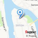 Отдельный пост Пожарной части № 1 на карте Барнаула