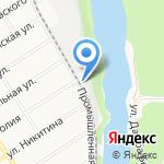 Торговая компания Прогресс-Агро на карте Барнаула