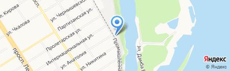 Агентство Безопасности Бизнеса Авангард на карте Барнаула