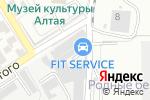 Схема проезда до компании Renault-Center в Барнауле