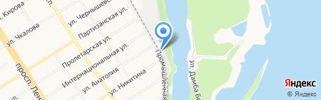 АлтайИгроСервис на карте Барнаула