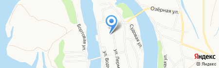 АВаЛ на карте Барнаула