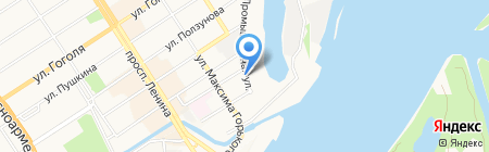 ФЕБЕСТ-АЛТАЙ на карте Барнаула
