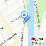 Российский Речной Регистр на карте Барнаула