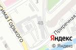 Схема проезда до компании Диаф в Барнауле
