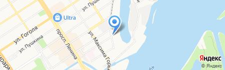 ССК Бетон на карте Барнаула