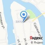 Почтовое отделение №1 на карте Барнаула