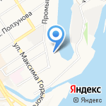 СК Сибирия на карте Барнаула