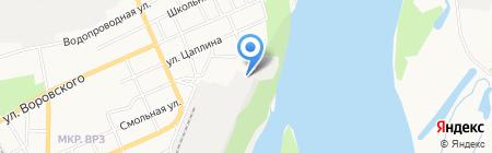 Виктория-ЗЕТ на карте Барнаула
