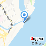 Автонавикс на карте Барнаула