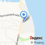 Грузовой терминал Обь на карте Барнаула