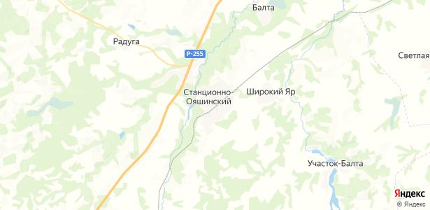 Станционно-Ояшинский на карте