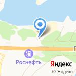 Водный мир на карте Барнаула