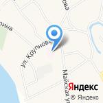 Бобровская амбулатория на карте Барнаула