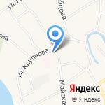Ириска на карте Барнаула