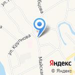 Домовенок на карте Барнаула