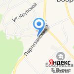 Русская православная церковь на карте Барнаула