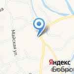 Ахтамар на карте Барнаула