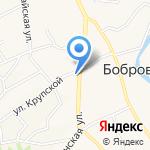Небеса на карте Барнаула