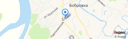 Мария-Ра на карте Бобровки